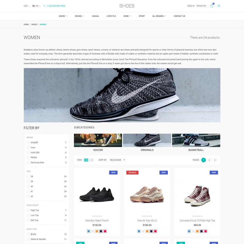 theme - Moda & Calzature - World Footwear - Negozio di Scarpe - 4