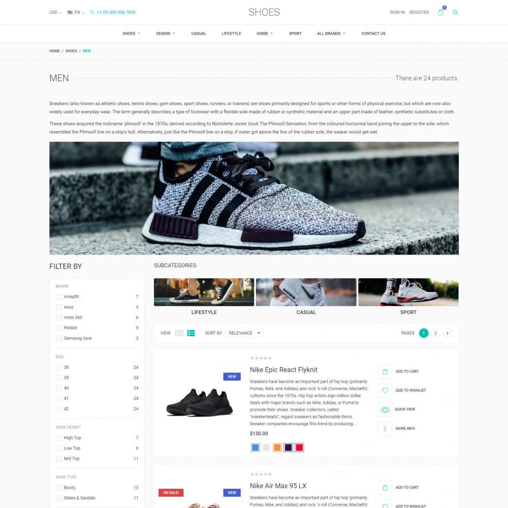 theme - Moda & Calzature - World Footwear - Negozio di Scarpe - 5