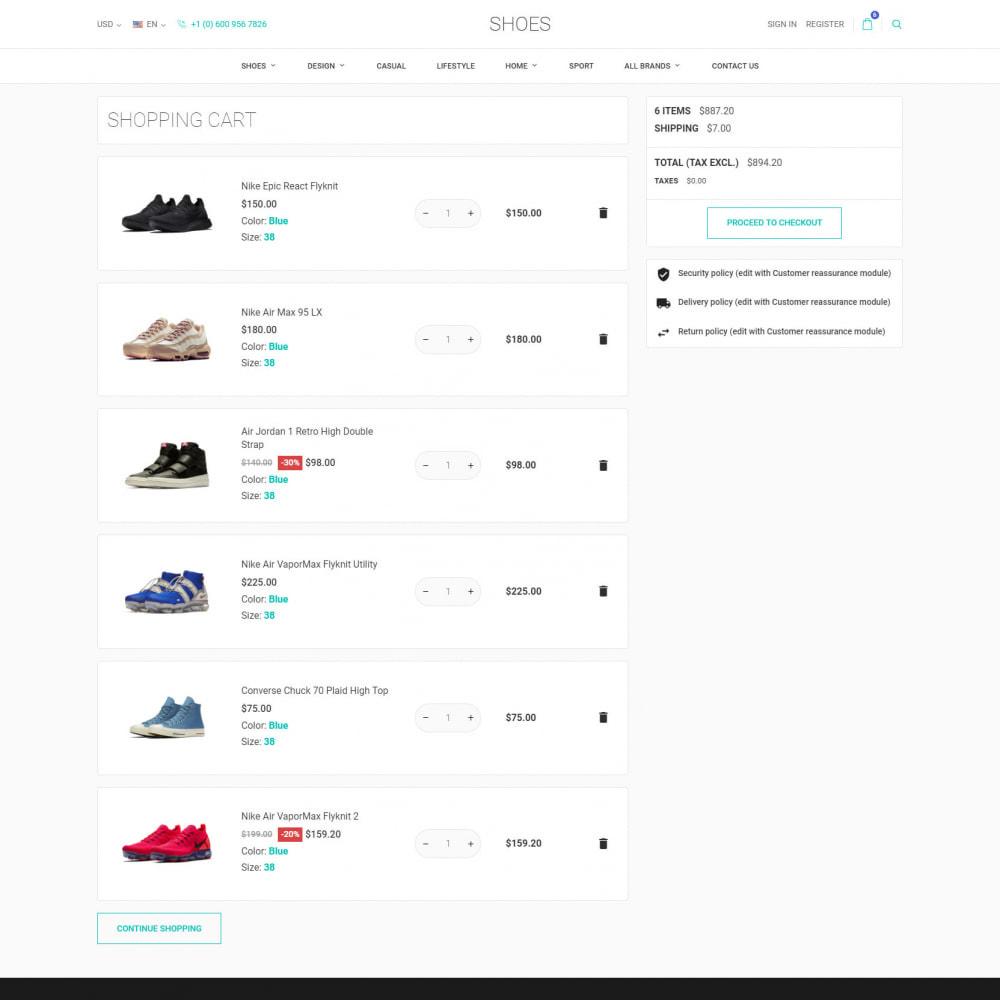 theme - Moda & Calçados - World Footwear - Loja de Sapatos - 8