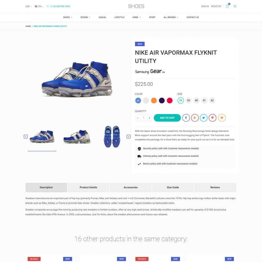 theme - Мода и обувь - World Footwear - Магазин Обуви - 6