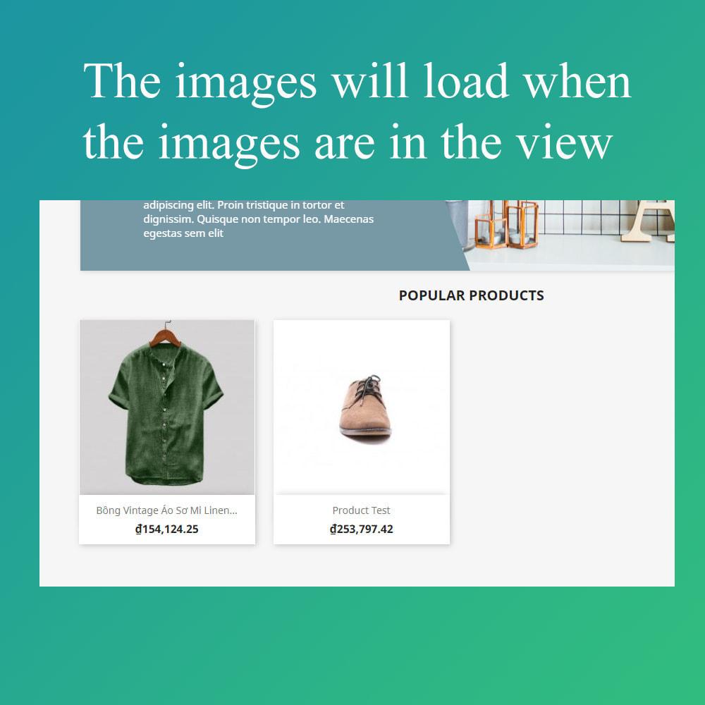 module - Performance du Site - Smart optimization - lazy load images - 4