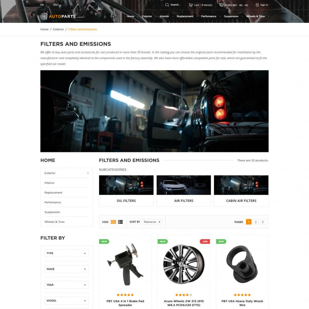 theme - Auto's & Motoren - Auto-Onderdelen Winkel - 4
