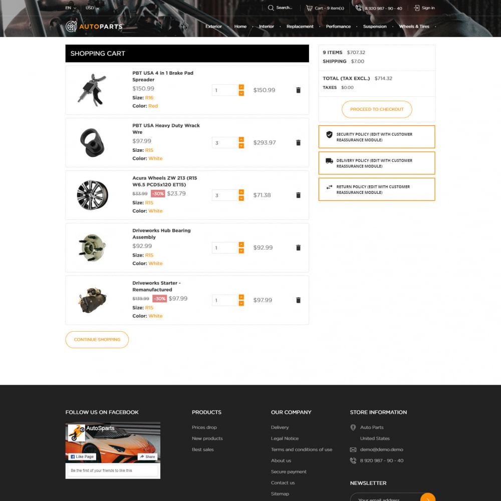 theme - Auto's & Motoren - Auto-Onderdelen Winkel - 7