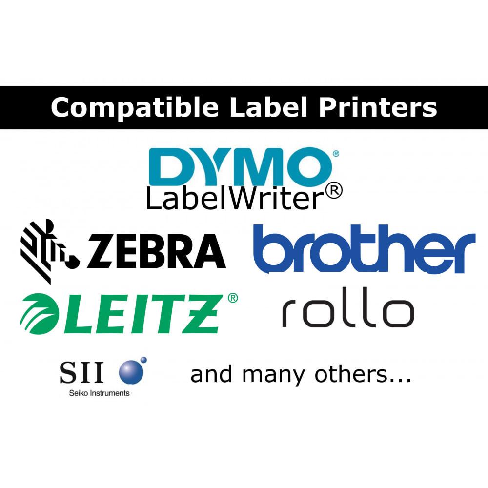 module - Kommissionierung & Versand - Adress- / Bestelletiketten - Direct Label Print - 3