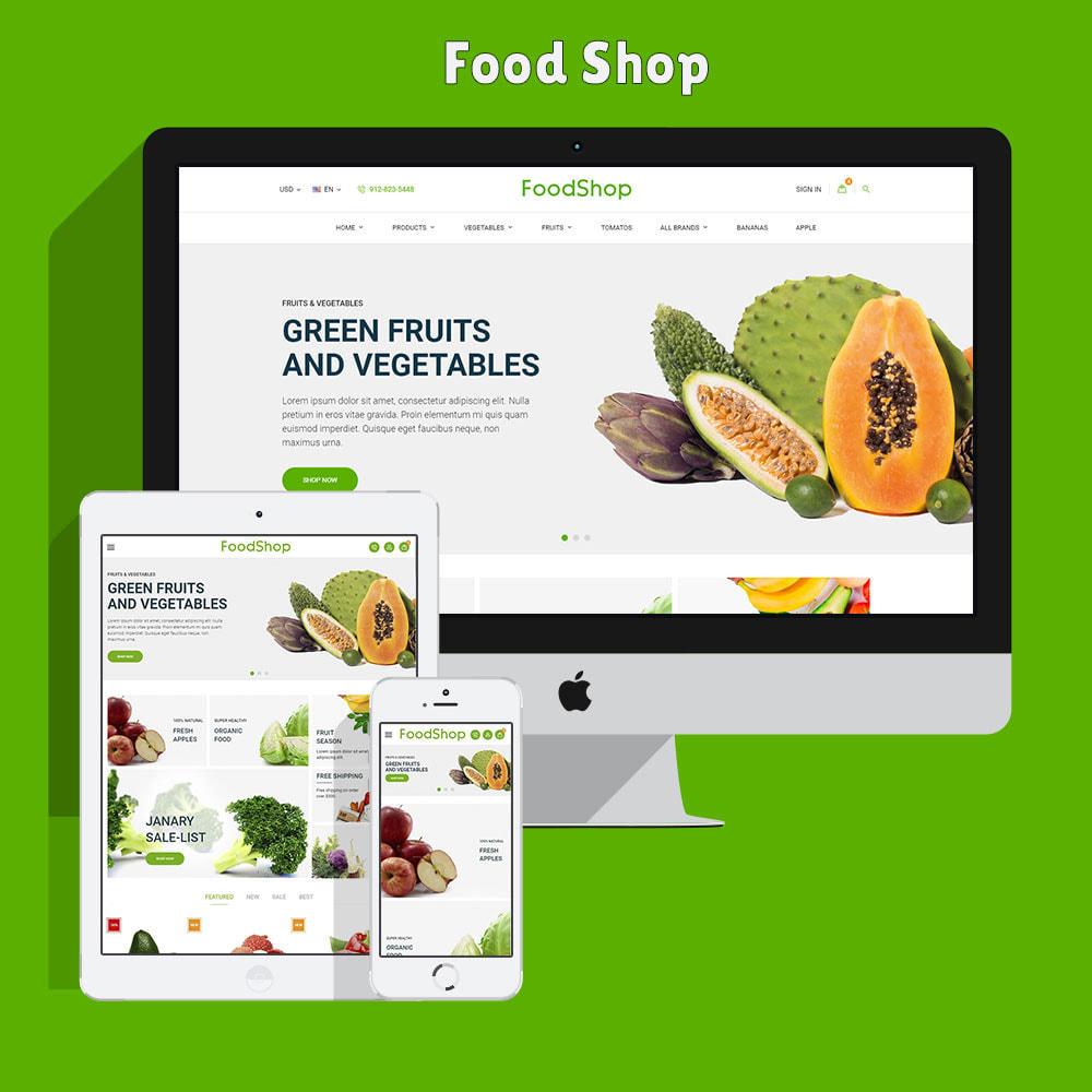 theme - Lebensmittel & Restaurants - Organic Garden - Food Store - 3