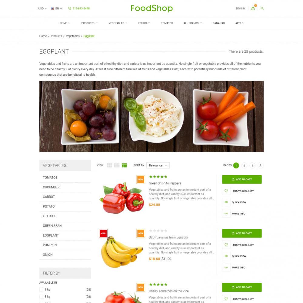 theme - Lebensmittel & Restaurants - Organic Garden - Food Store - 6