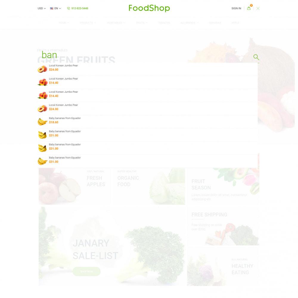 theme - Lebensmittel & Restaurants - Organic Garden - Food Store - 8