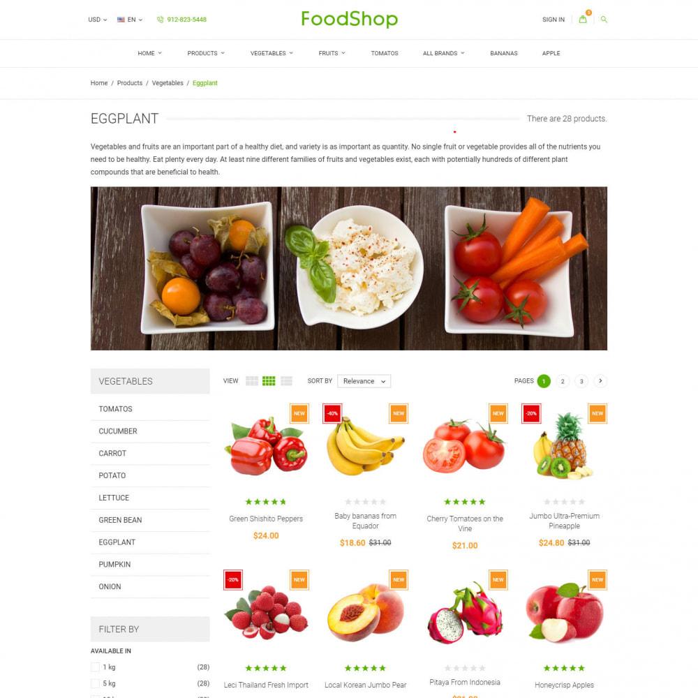 theme - Cibo & Ristorazione - Organic Garden - Food Store - 5