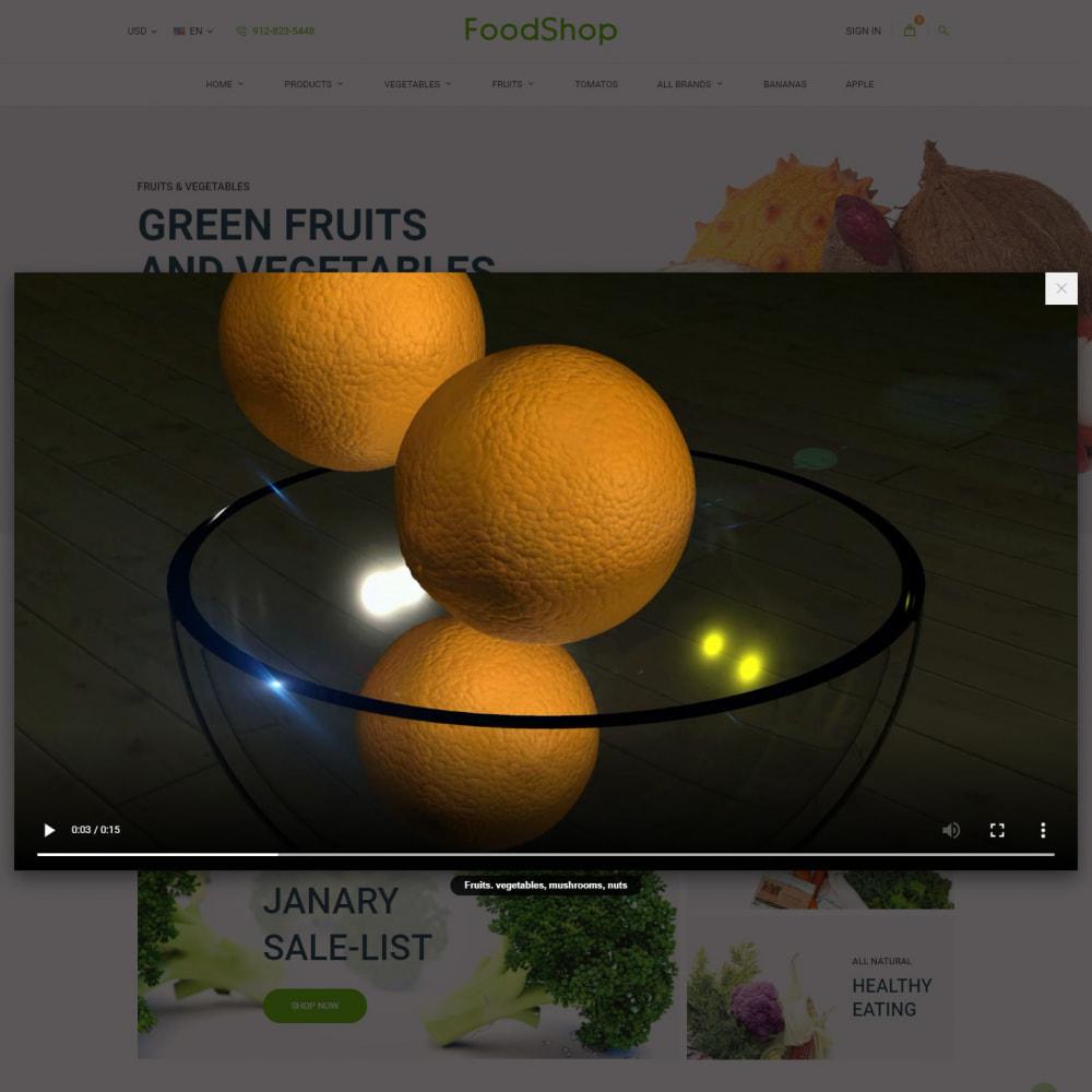 theme - Żywność & Restauracje - Organic Garden - Food Store - 11