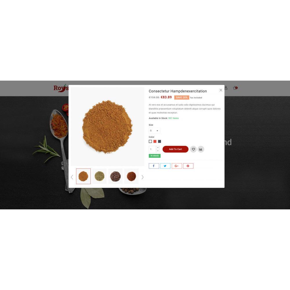 theme - Food & Restaurant - Royspice  - Online Spice Store - 8