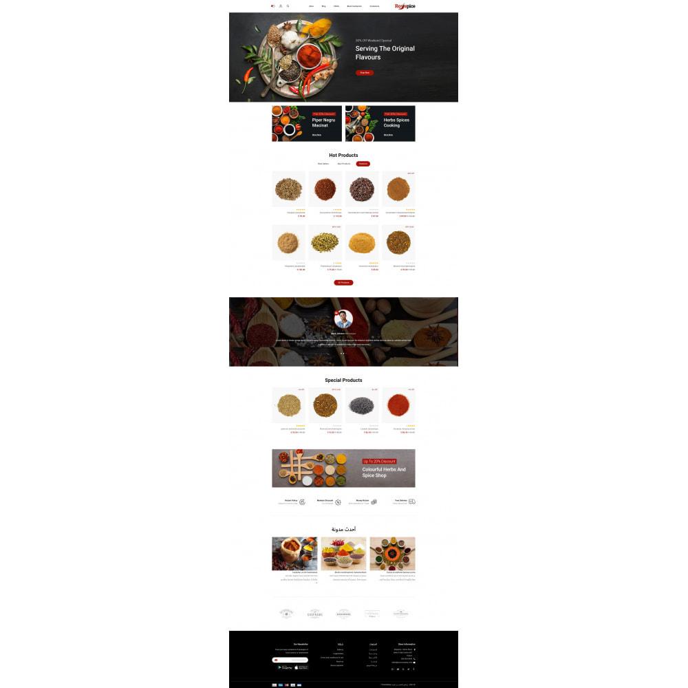 theme - Food & Restaurant - Royspice  - Online Spice Store - 10