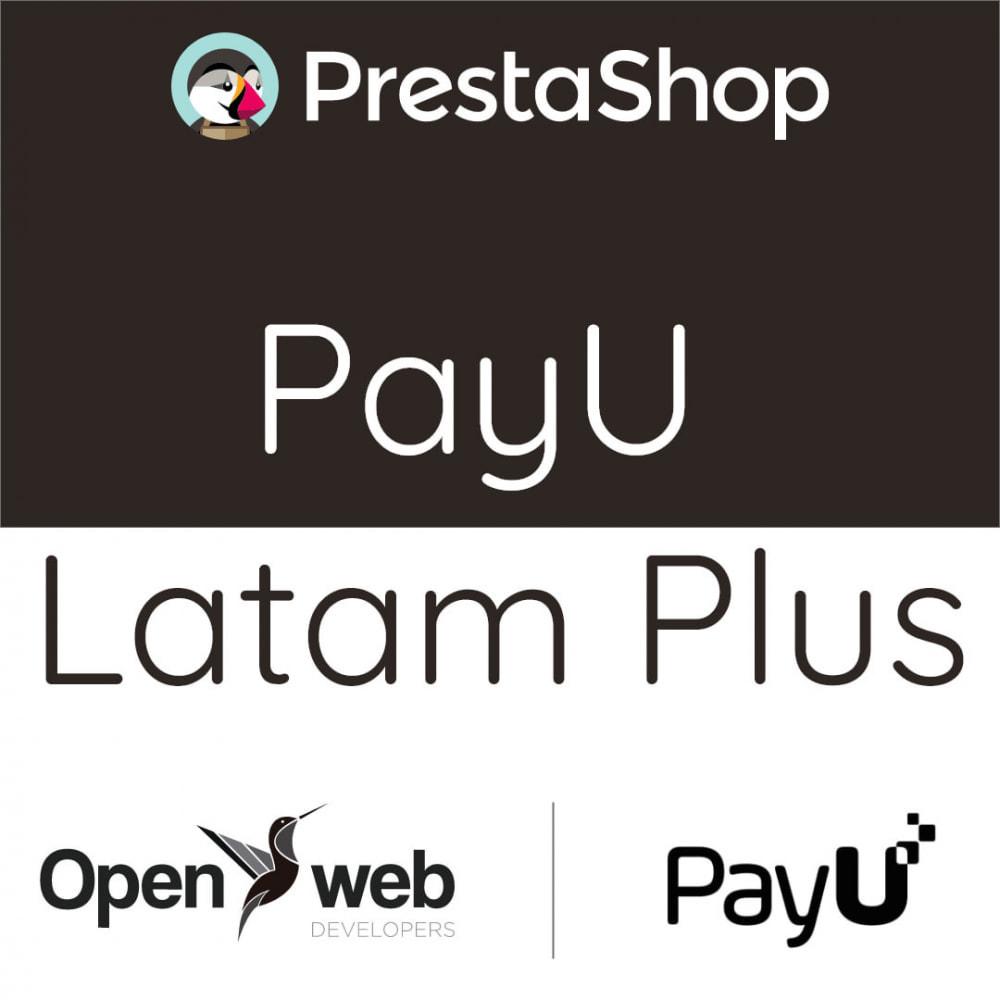 module - Pagamento con Carta di Credito o Wallet - Payu Latam Plus - 1