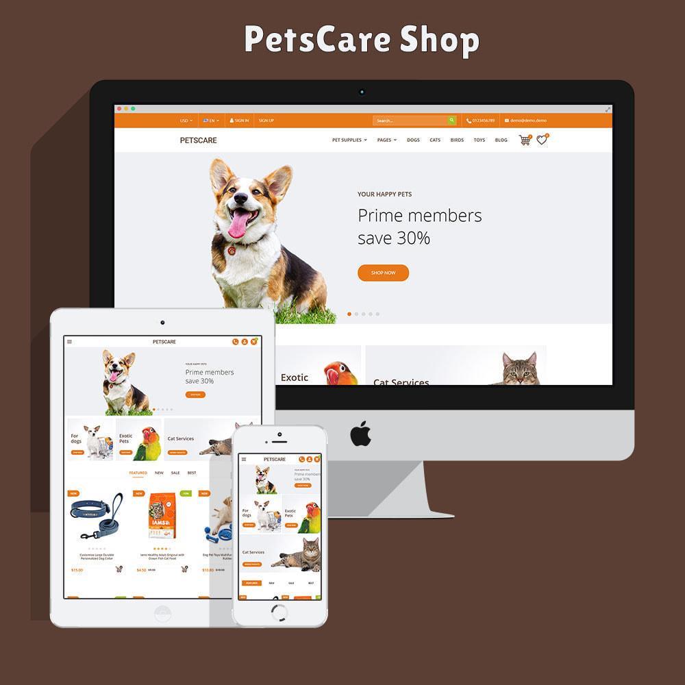 theme - Animales y Mascotas - PetsCare - Tienda de Mascotas - 2