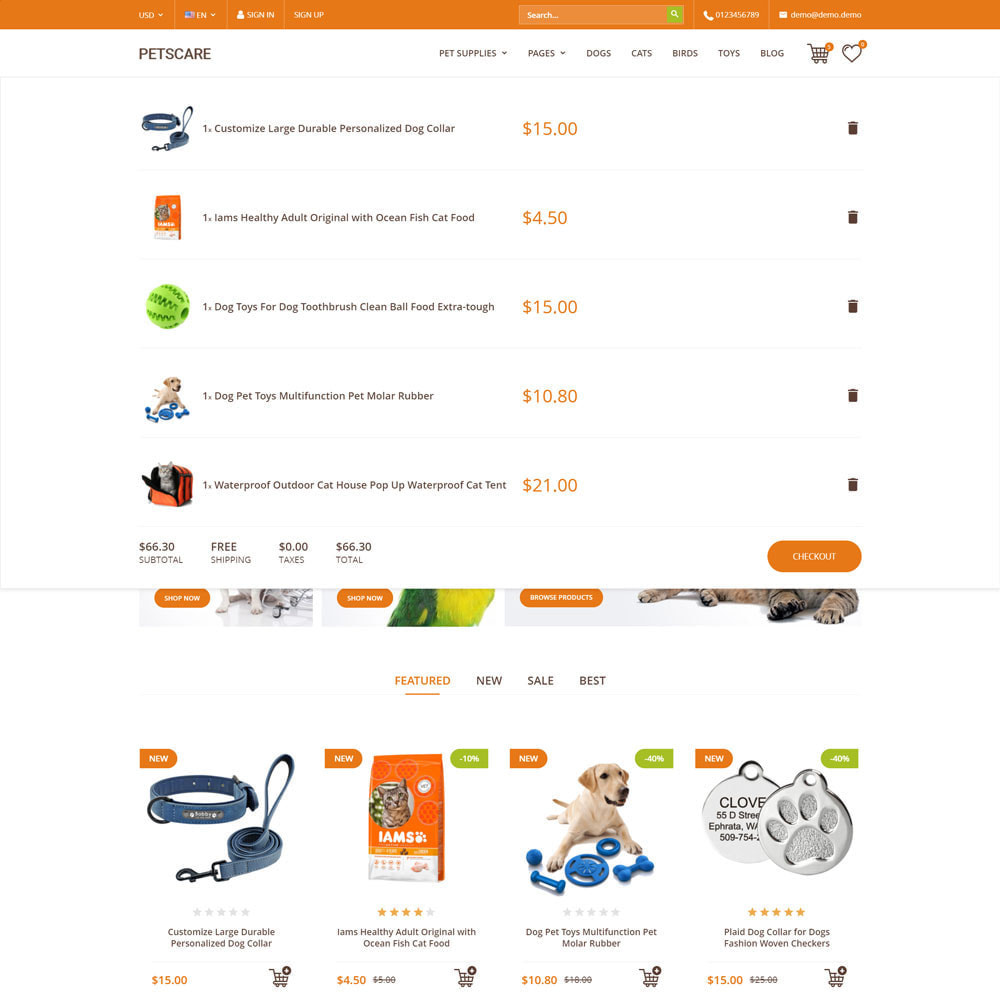 theme - Dieren - PetsCare - Dierenwinkel - 9