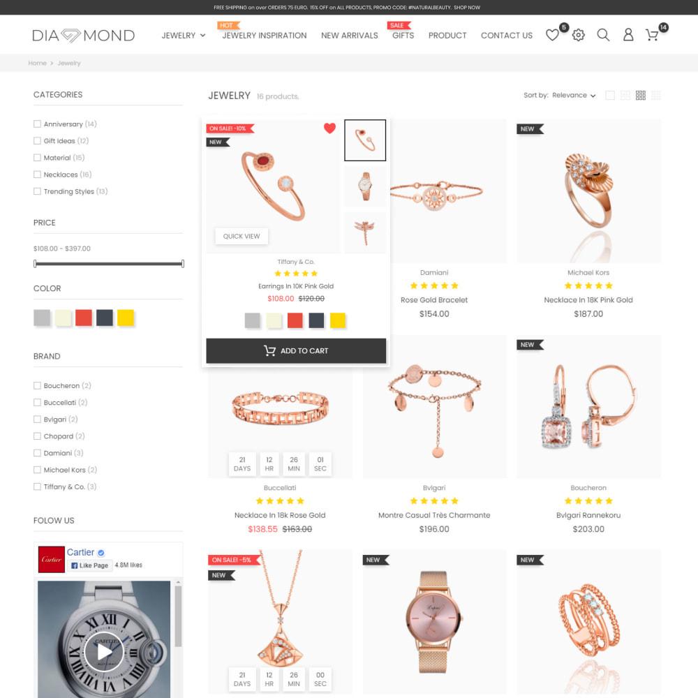 theme - Sieraden & Accessoires - Diamond Jewelry & Accessories - Fashion, Watches - 3