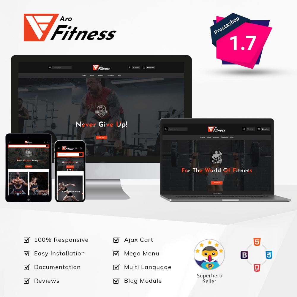 theme - Мода и обувь - Aro - Fitness Shop - 1