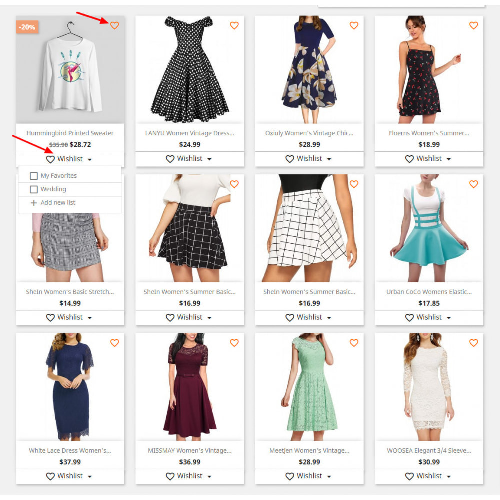 module - Wishlist & Gift Card - Advanced Multi Wishlist with Discounts and Notification - 3