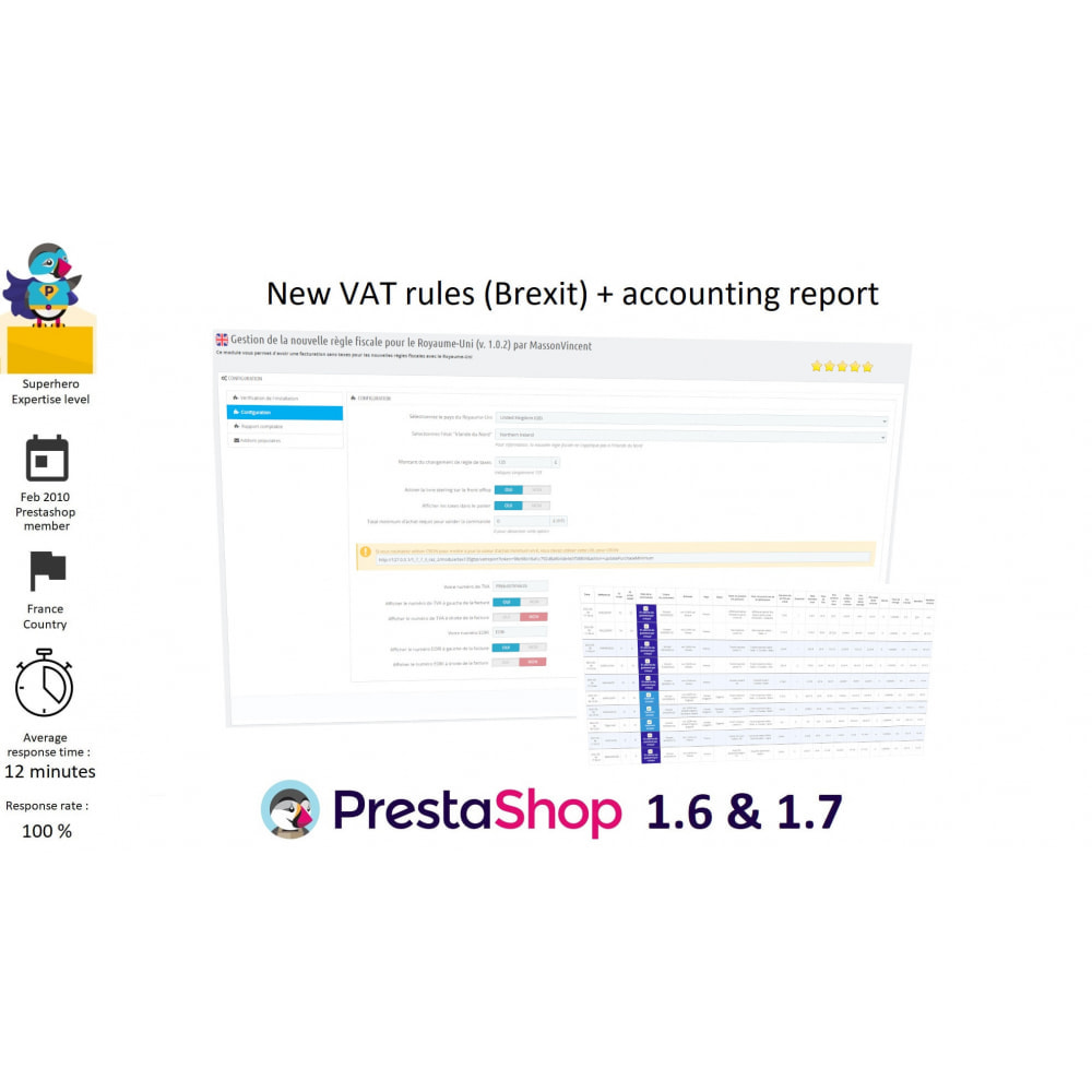 module - Accounting & Invoicing - VAT rule - Brexit (+ accounting) - 1