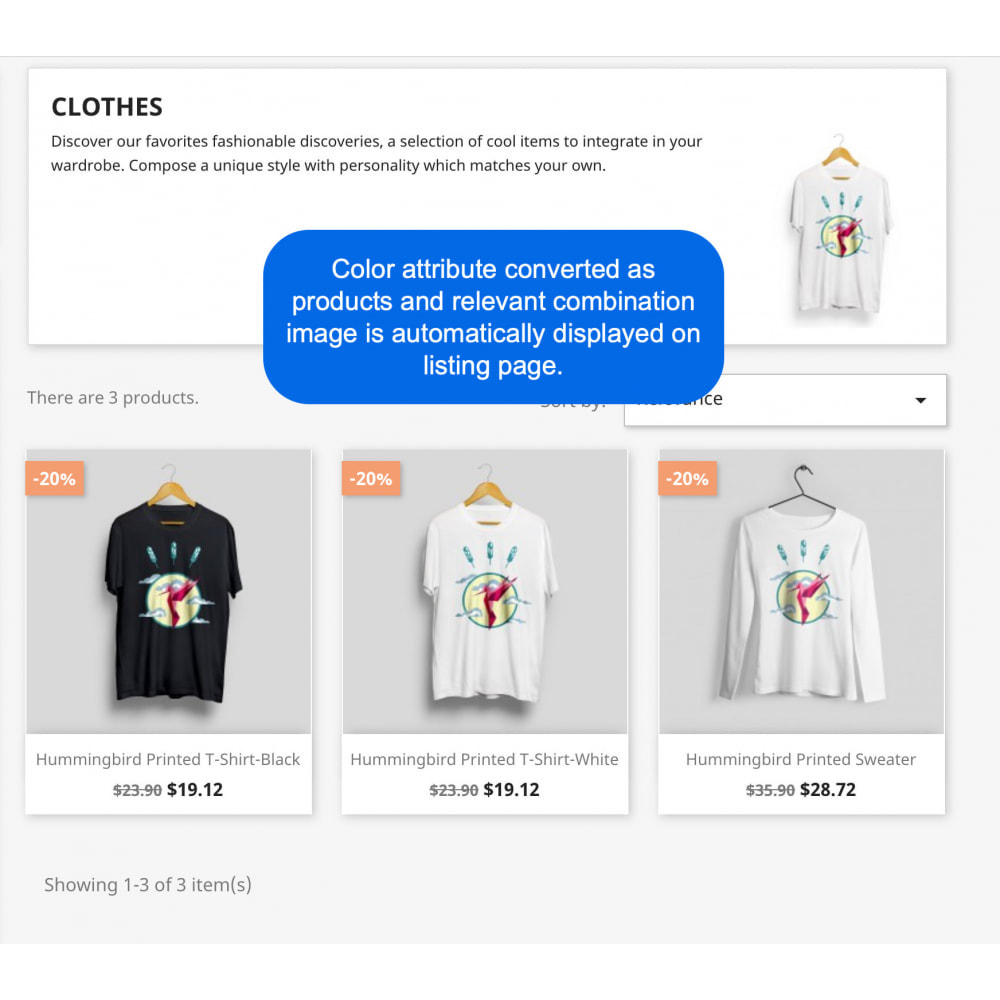 module - Combinations & Product Customization - Products by Attributes and Combinations - 3