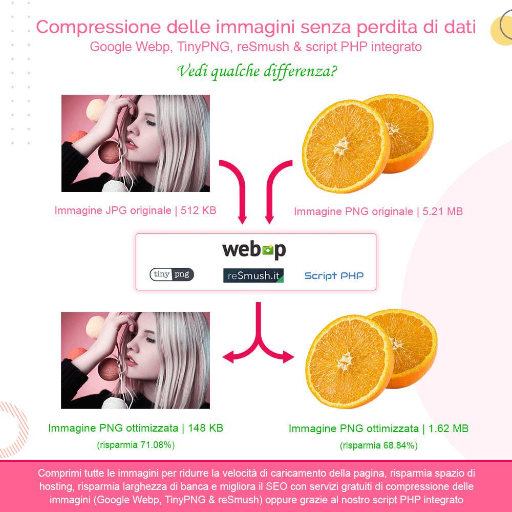 module - Website Performance - Total Image Optimization Pro-Compressione senza perdita - 2