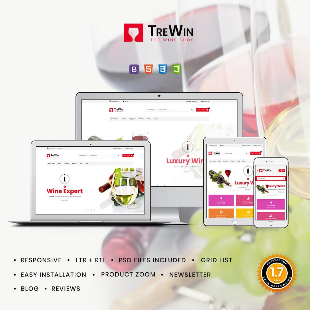 theme - Bebidas & Tabaco - Trewin Drinks and  Wine Store - 1