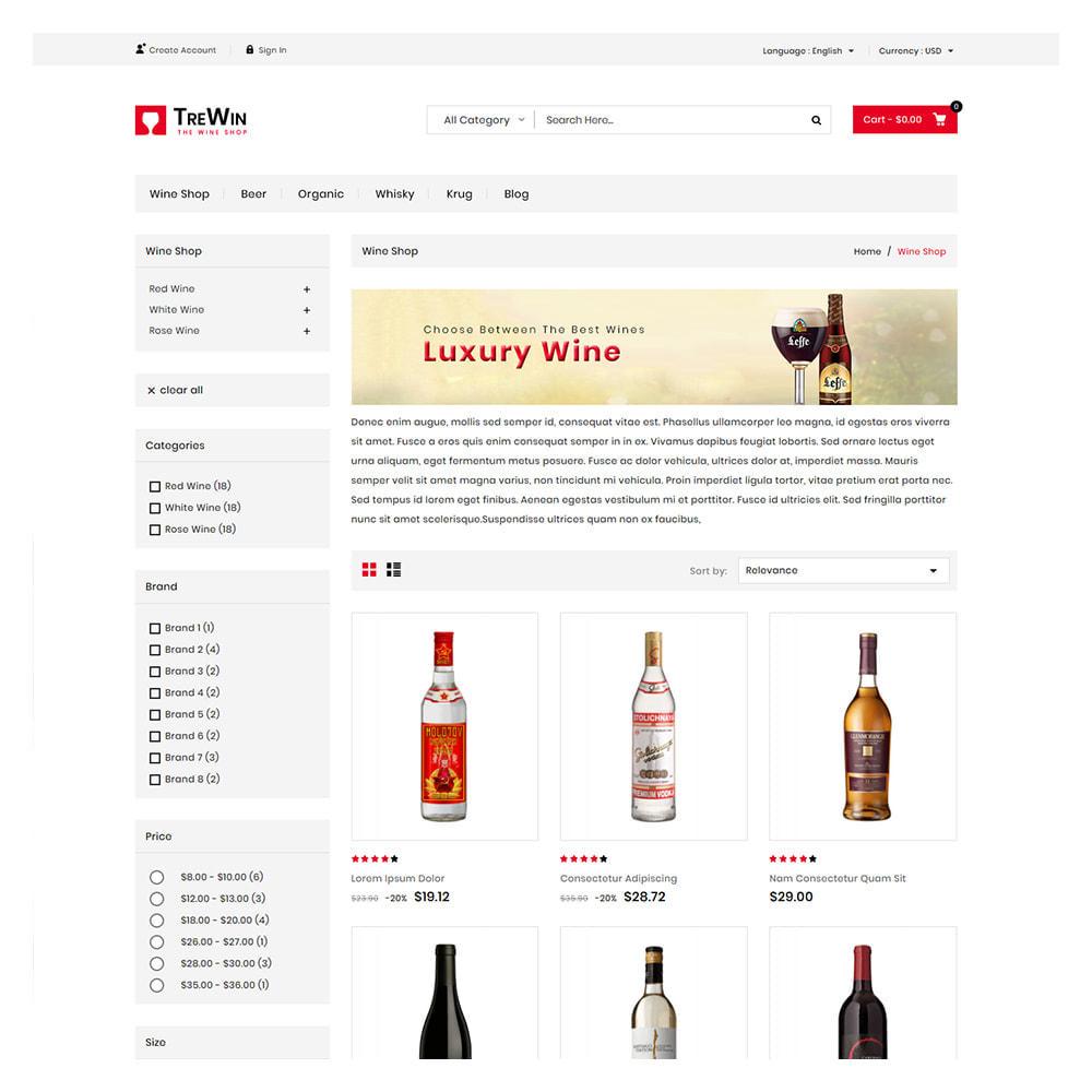 theme - Bebidas & Tabaco - Trewin Drinks and  Wine Store - 3