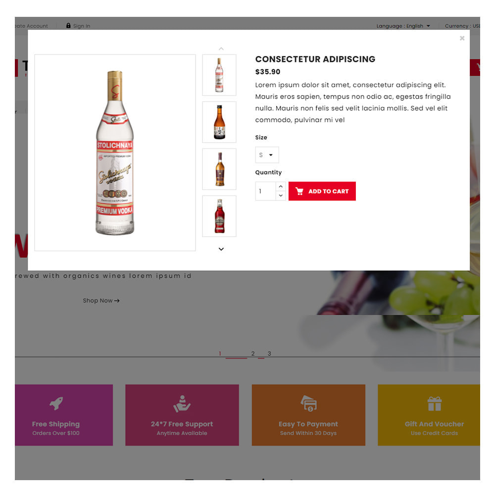 theme - Bebidas & Tabaco - Trewin Drinks and  Wine Store - 7