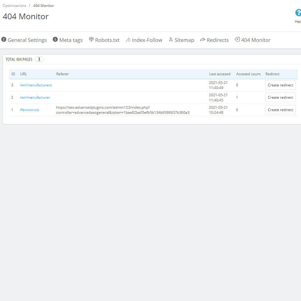 module - SEO (Pozycjonowanie naturalne) - SEO Ultimate: Meta Tags, Redirects, Sitemaps & More - 7