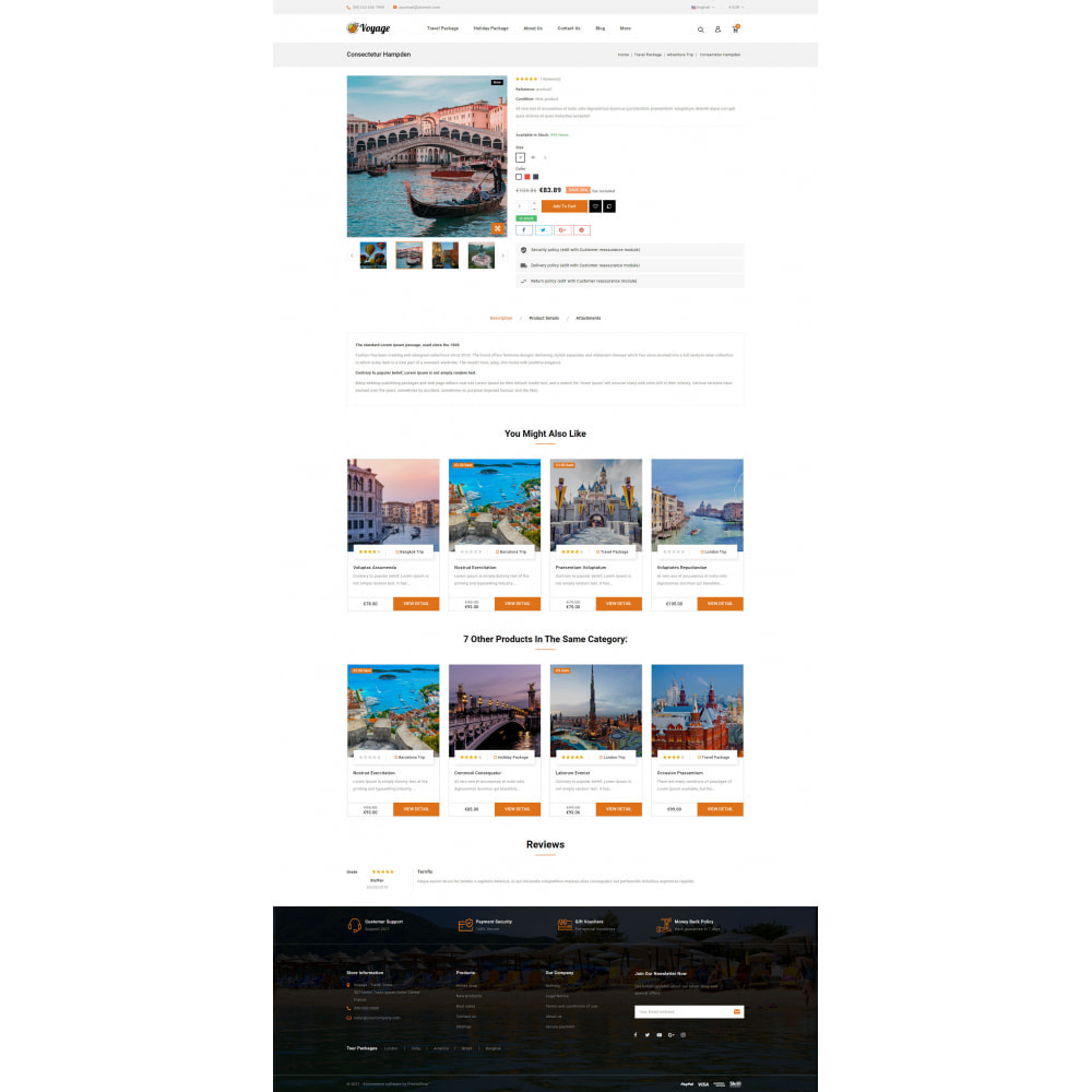theme - Sports, Activities & Travel - Voyage - Travels Store - 5