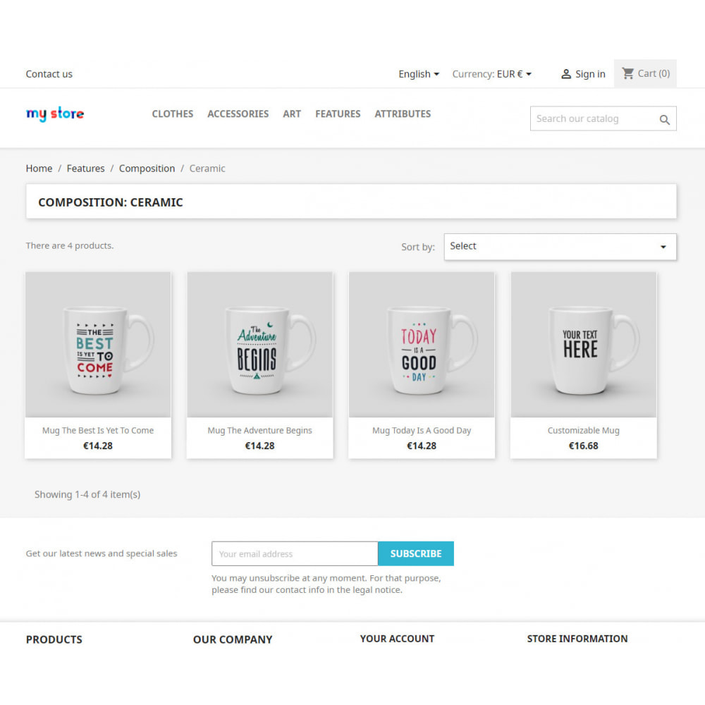 module - SEO - SEO pages of product features and attributes - 3