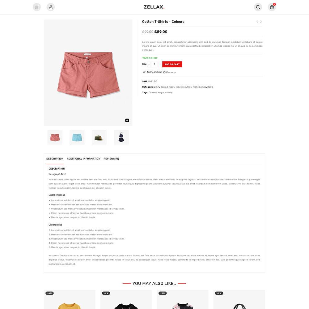 theme - Fashion & Shoes - Zellax - Trendy Online Fashion - 3