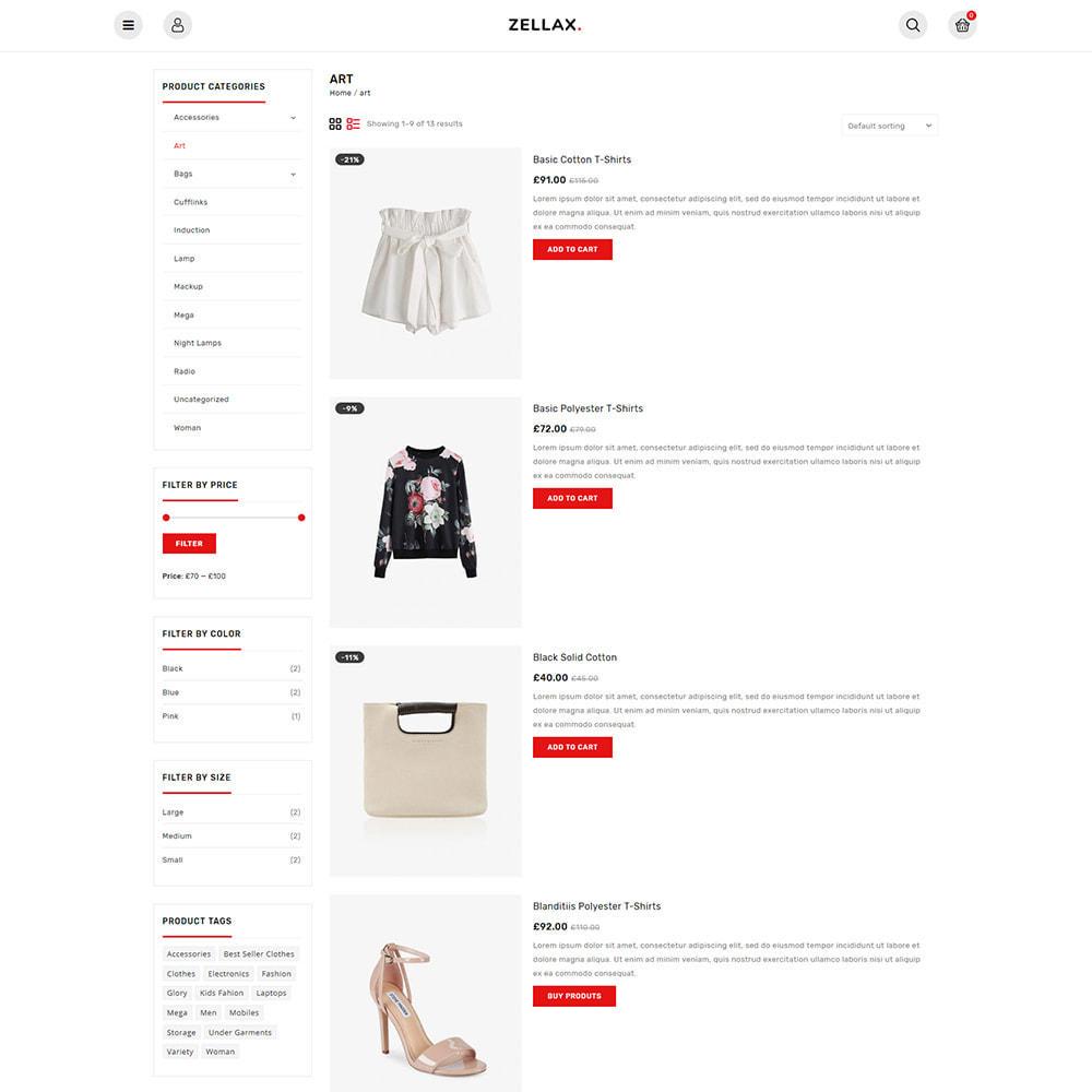 theme - Fashion & Shoes - Zellax - Trendy Online Fashion - 5