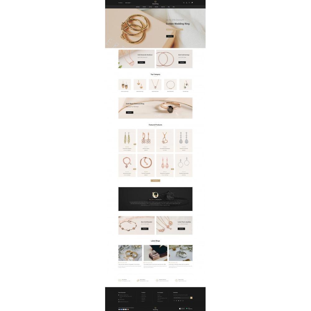 theme - Bellezza & Gioielli - Dazzling - Golden Jewelry Store - 2