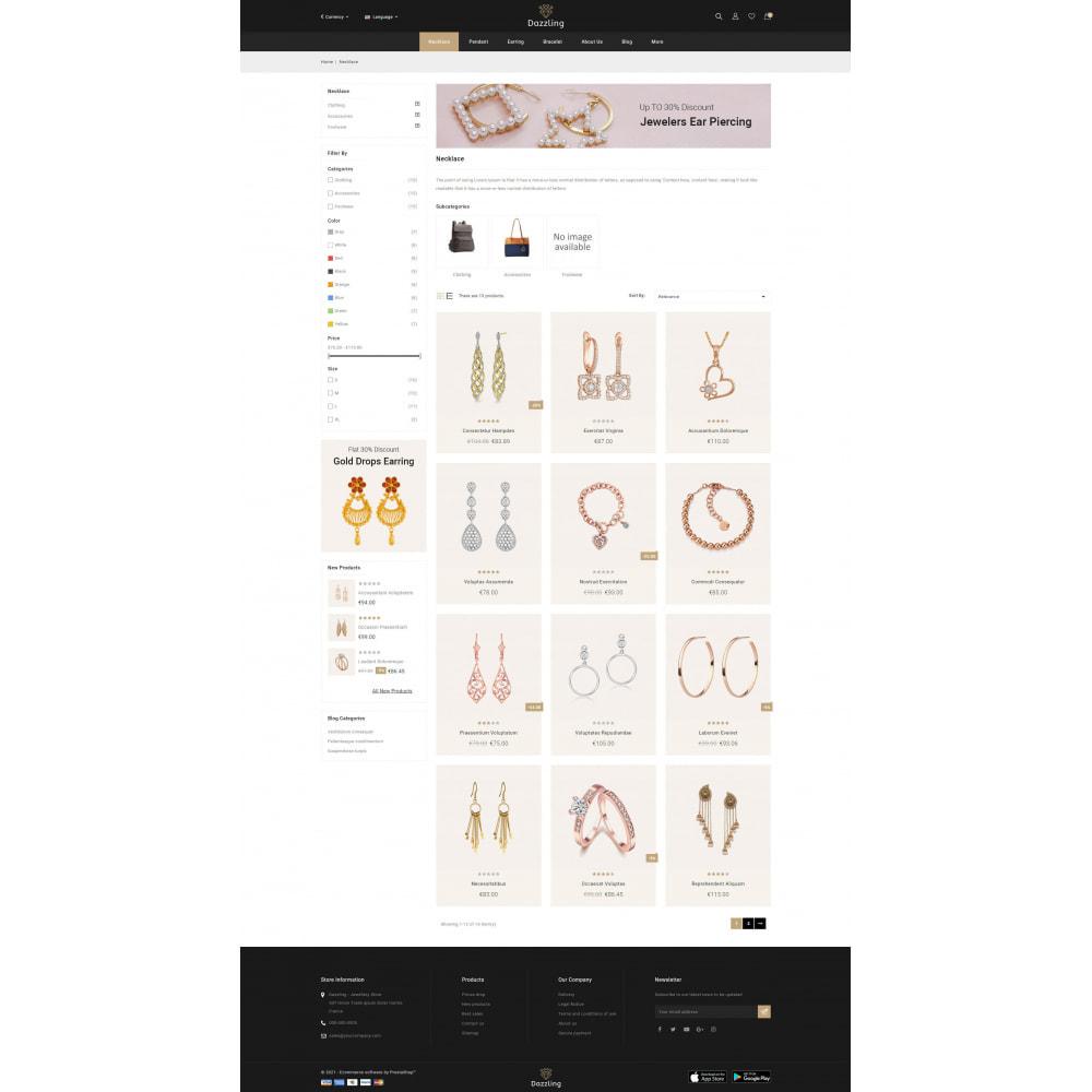 theme - Bellezza & Gioielli - Dazzling - Golden Jewelry Store - 3