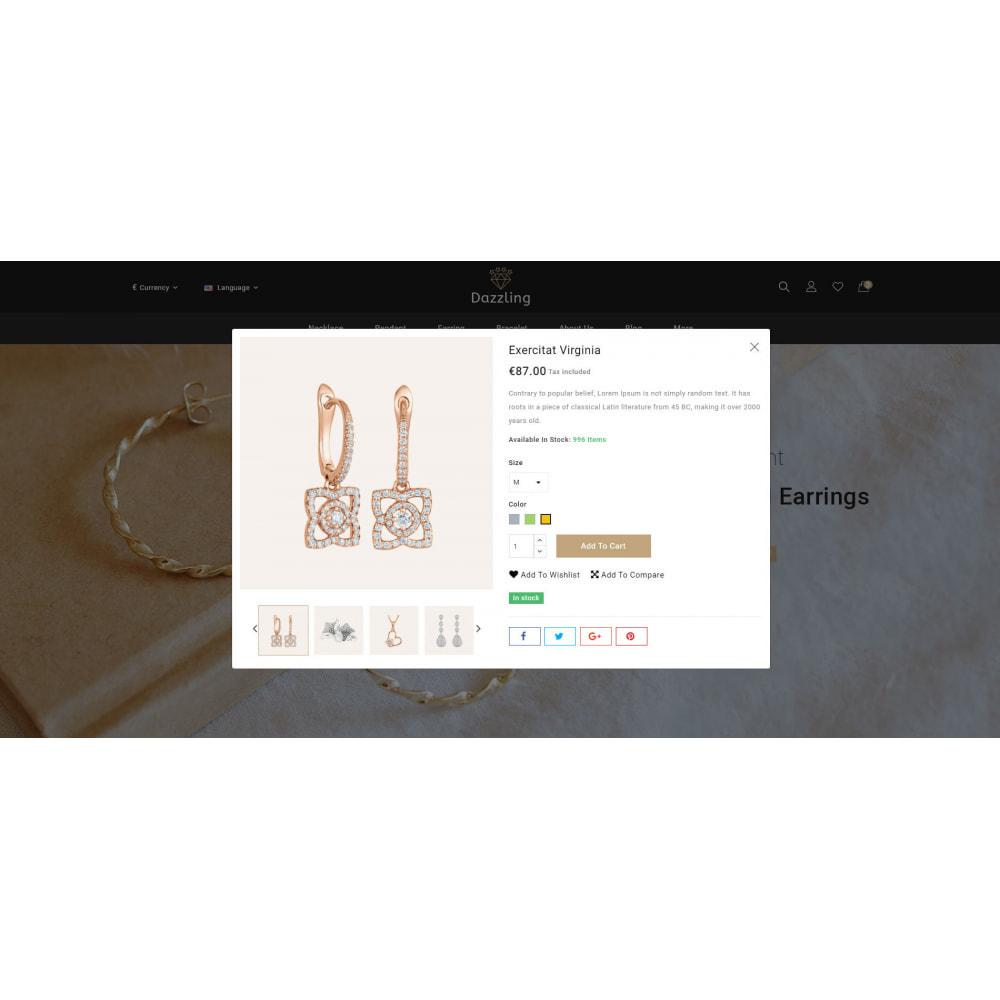 theme - Bellezza & Gioielli - Dazzling - Golden Jewelry Store - 7