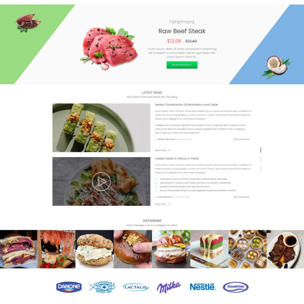 theme - Alimentation & Restauration - Mega Market Store - Food & Restaurant, Supermarket - 3