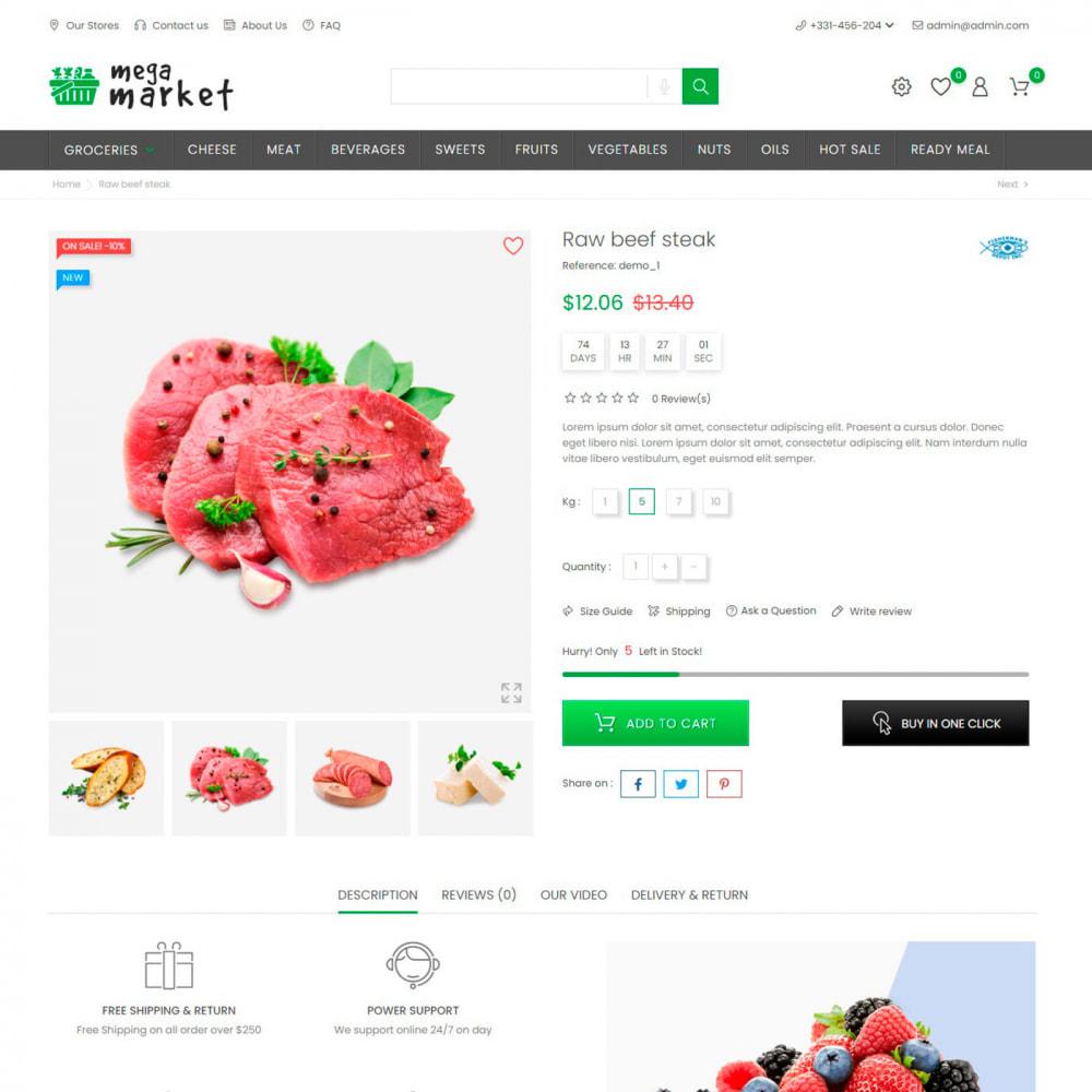 theme - Alimentation & Restauration - Mega Market Store - Food & Restaurant, Supermarket - 5