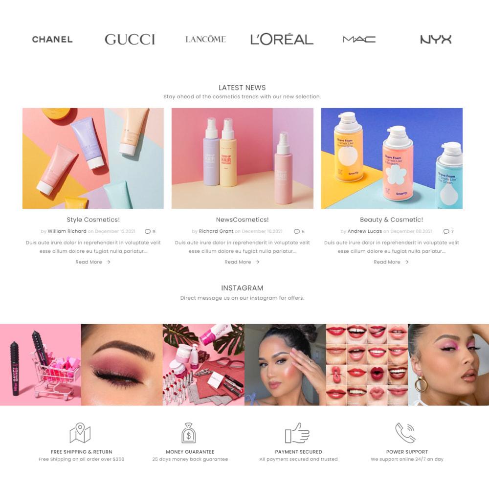 theme - Здоровье и красота - Cosmetics - Health & Beauty, Medicine, Drug, Art - 4