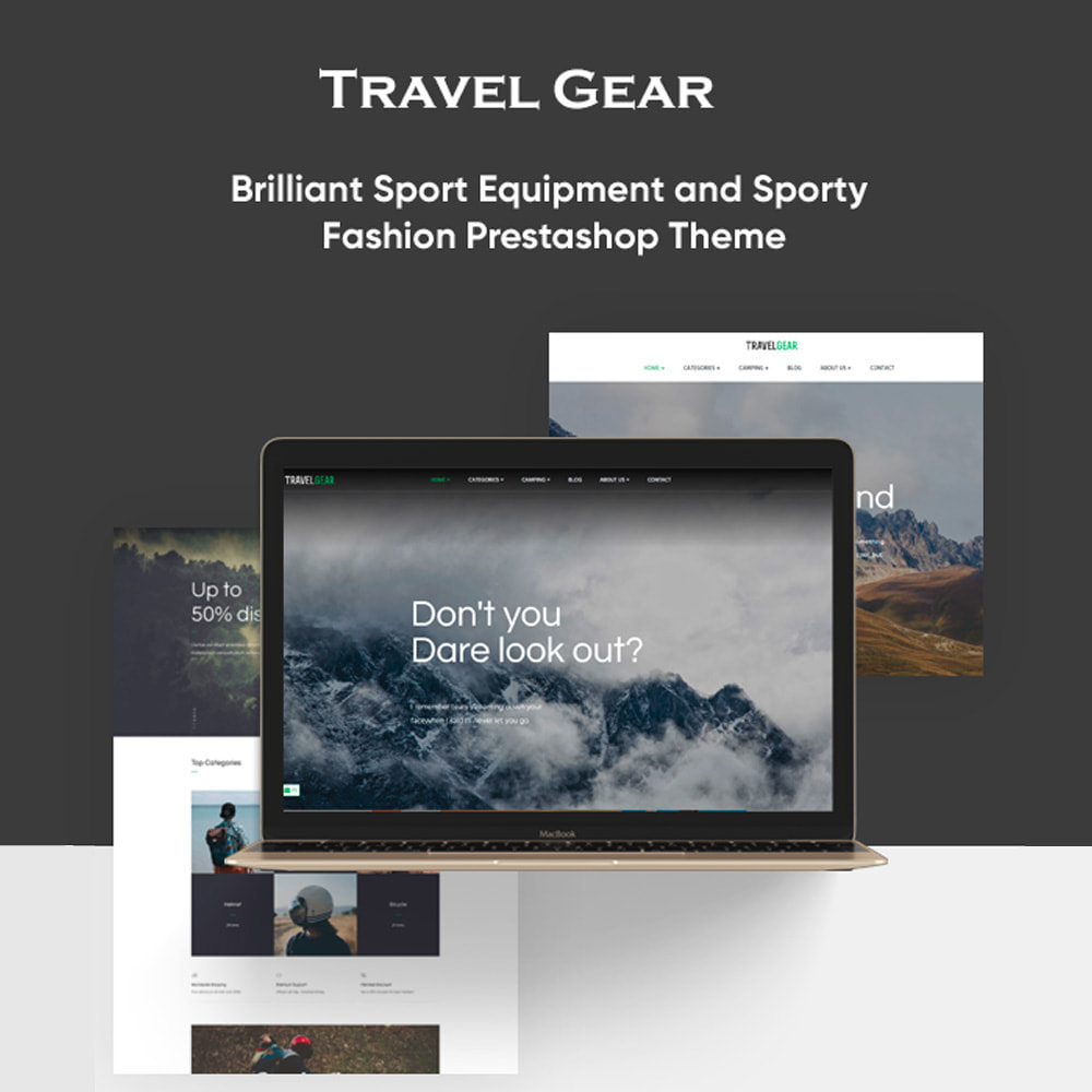 theme - Sports, Activities & Travel - Bos Travel Gear - 1