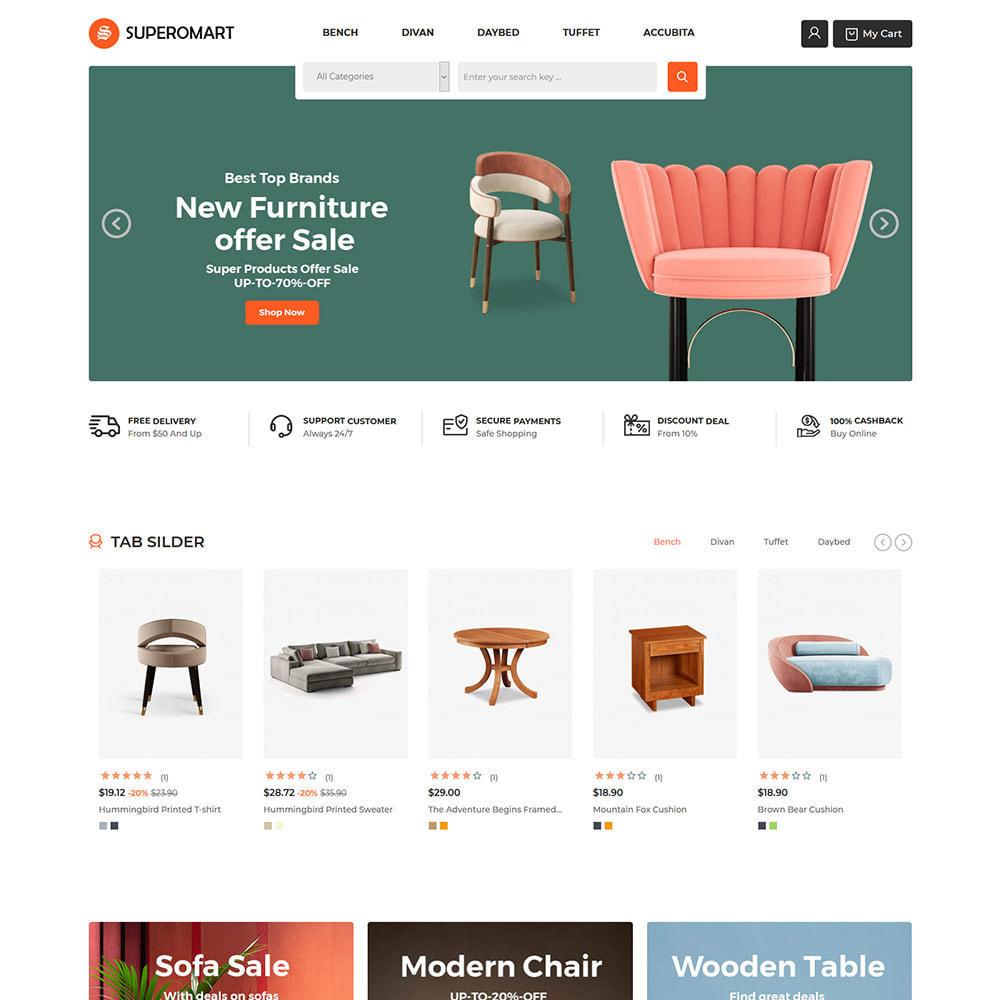 theme - Home & Garden - Interior Furniture - Sofa Chair Table Store - 2