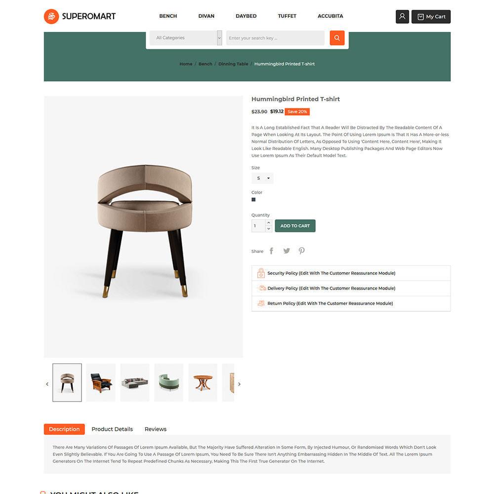 theme - Home & Garden - Interior Furniture - Sofa Chair Table Store - 5