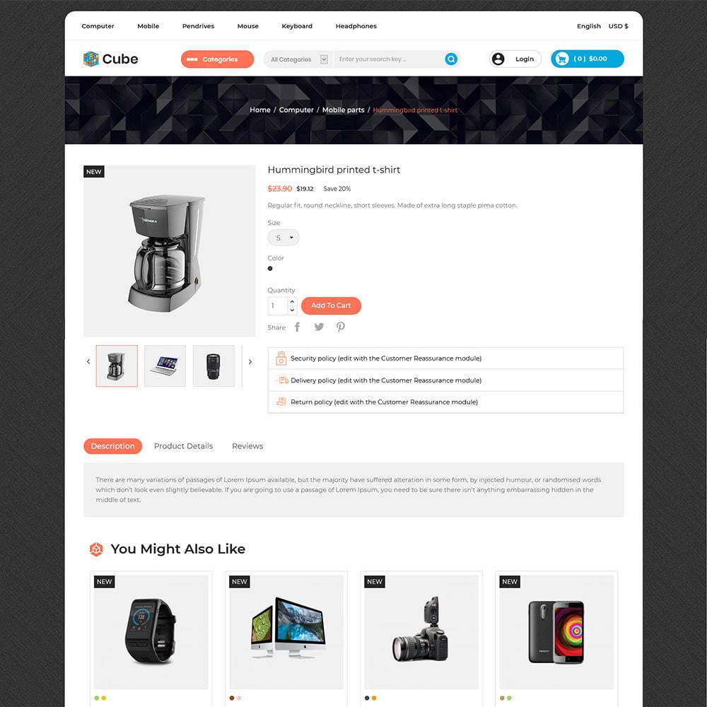 theme - Electronics & Computers - Cube Electronics Mobile - Computer Digital Drone Store - 5