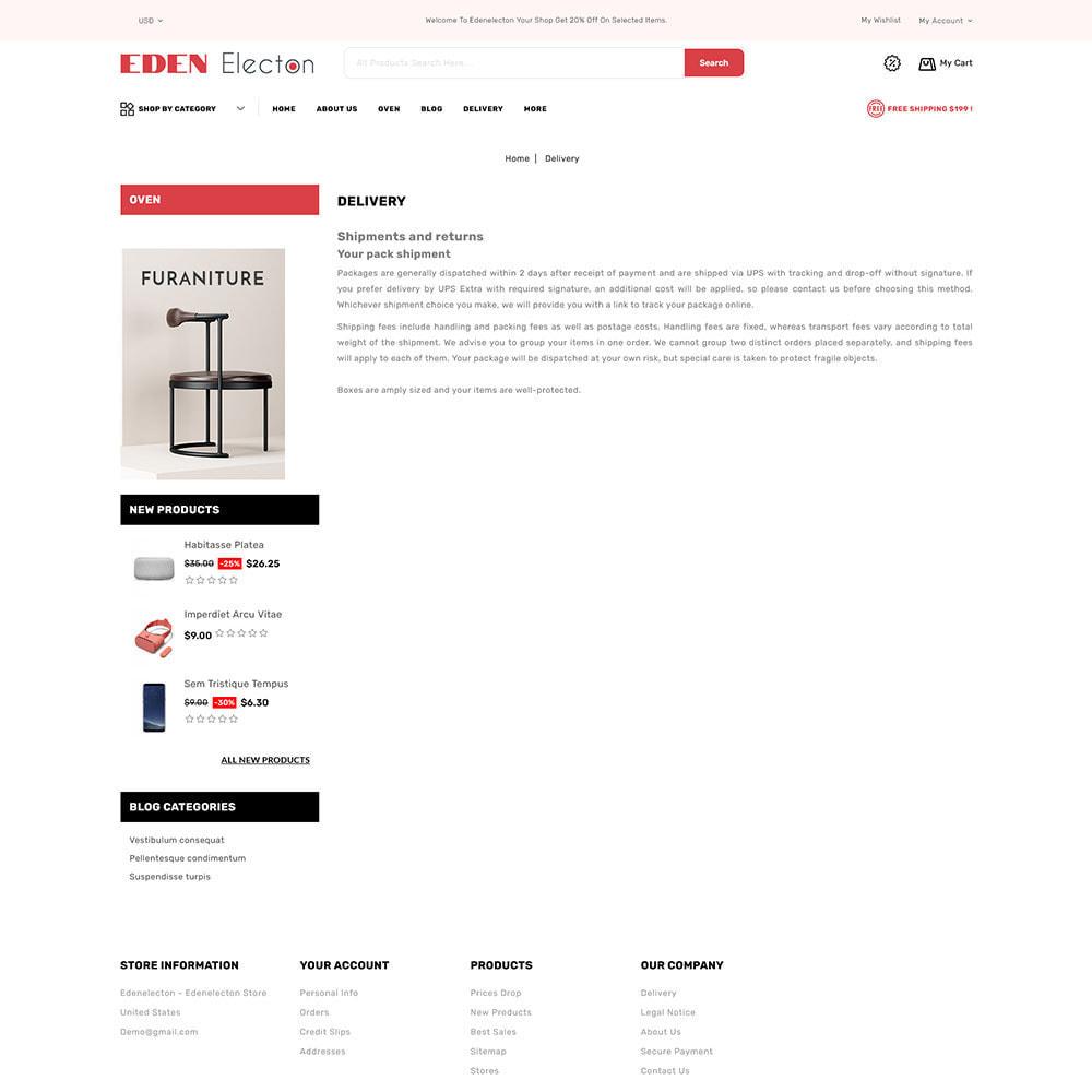 theme - Electronique & High Tech - Edenelecton - Electronics Store - 8
