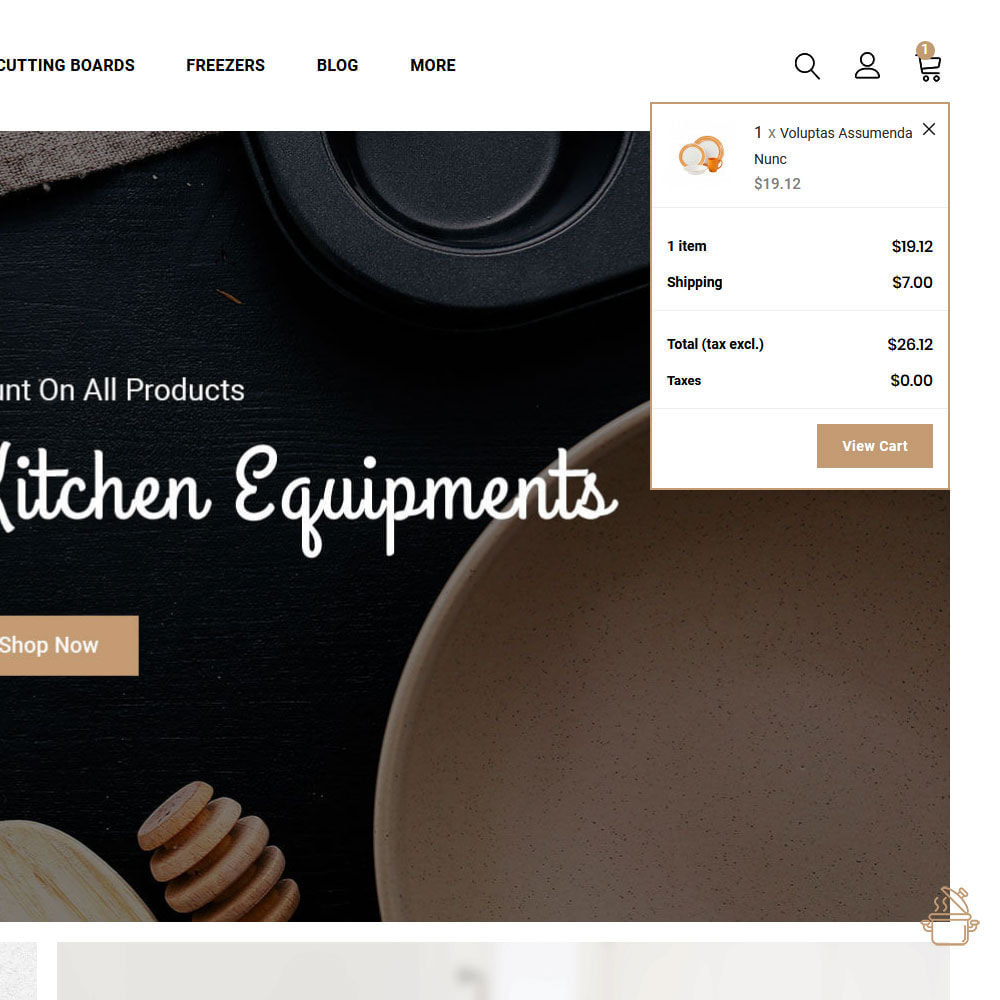 theme - Food & Restaurant - Cooker - Kitchen Store - 2
