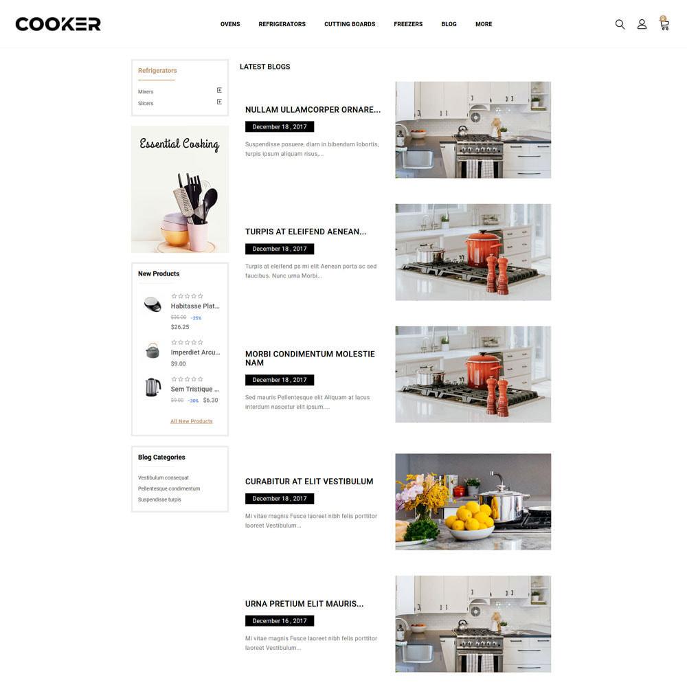 theme - Food & Restaurant - Cooker - Kitchen Store - 3