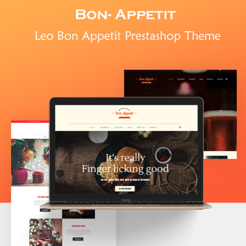 theme - Food & Restaurant - Bos Bon Appetit - 1