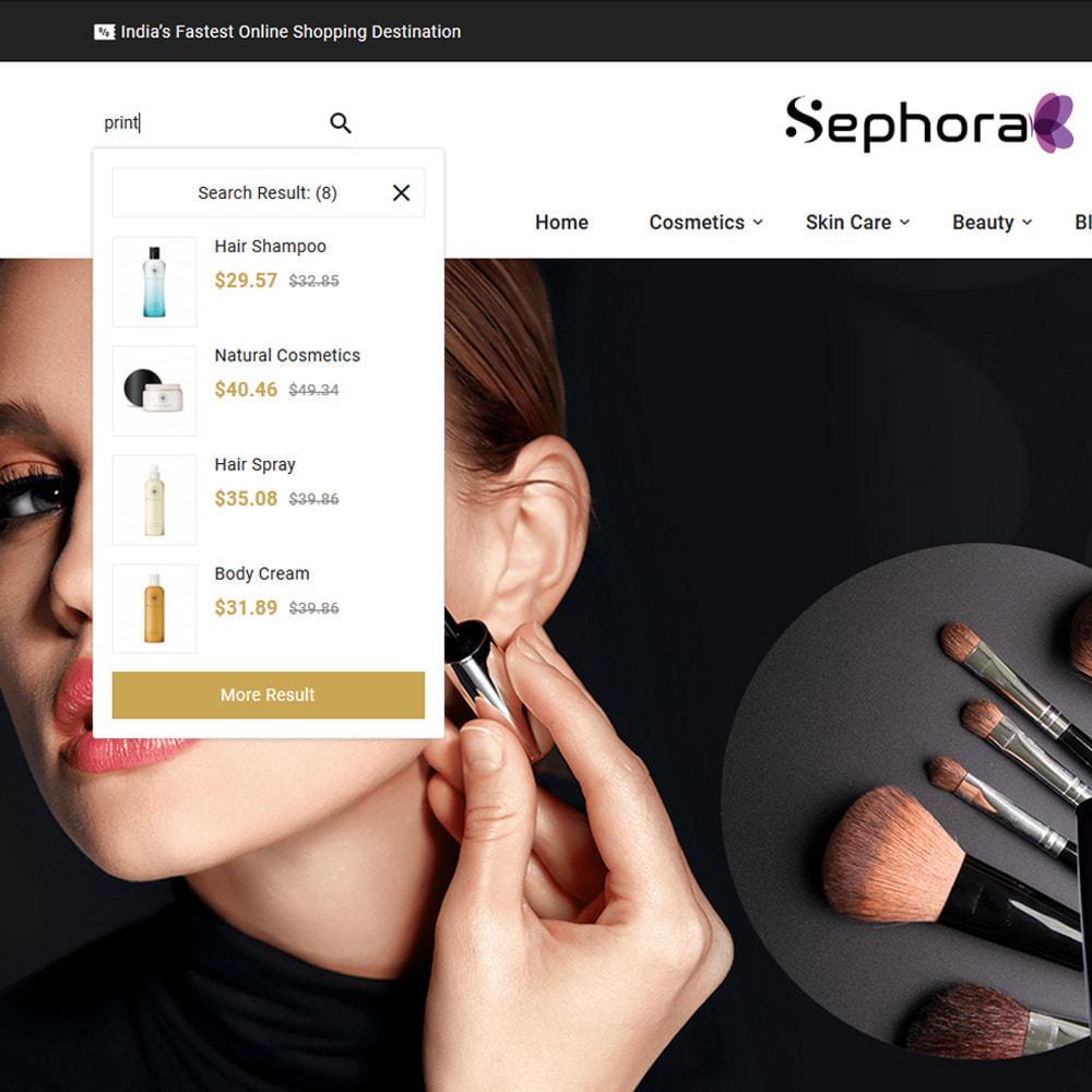 theme - Santé & Beauté - Sephora Mega Bio–Cosmetics Health–Beauty Super Store - 11