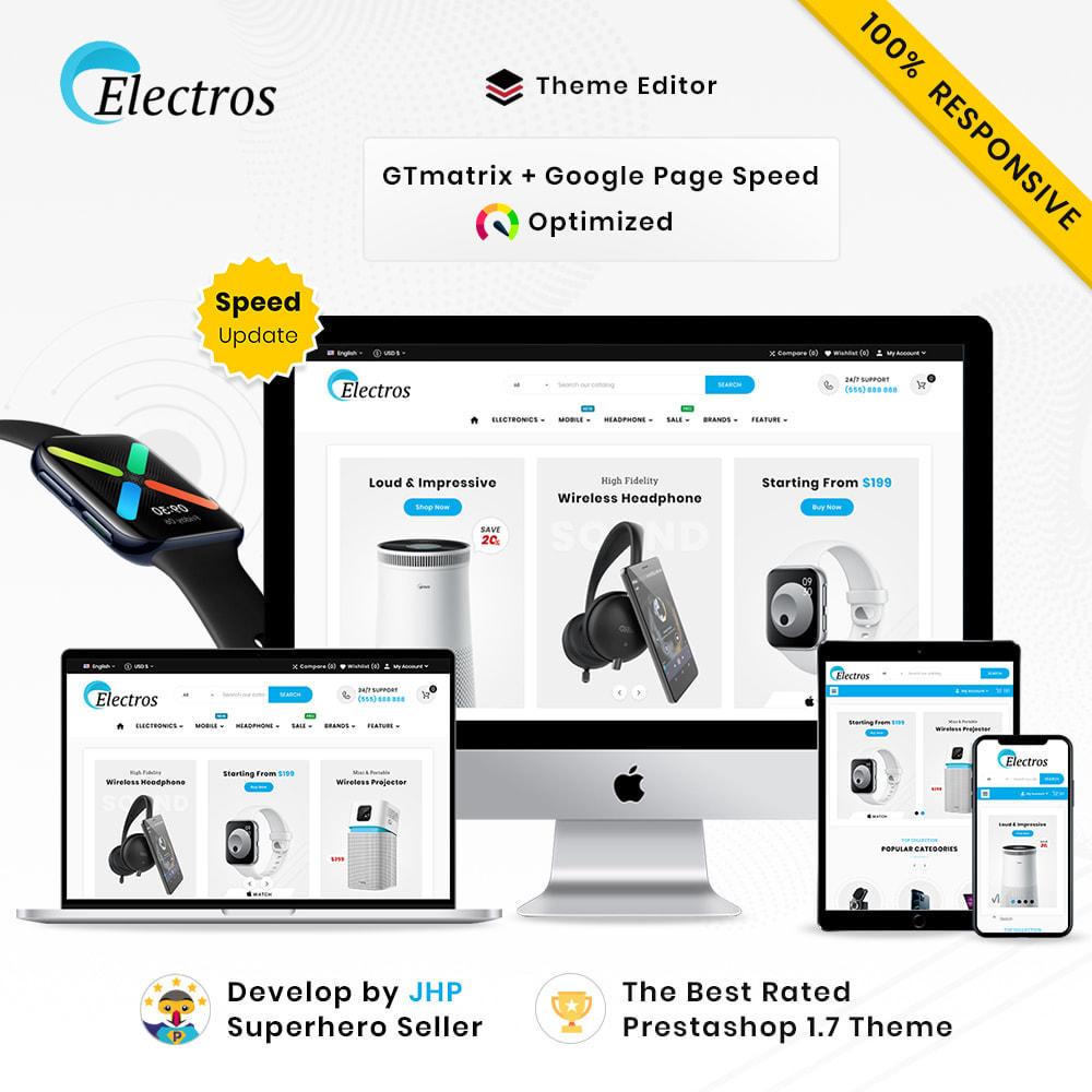 theme - Elektronika & High Tech - Electros High–Tech Gadgets–Electronics Mega Store - 1