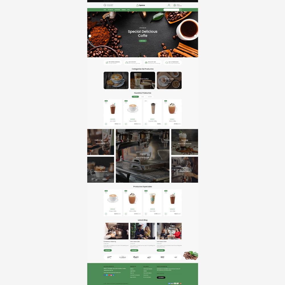 theme - Gastronomía y Restauración - Tienda de café expresso - 2