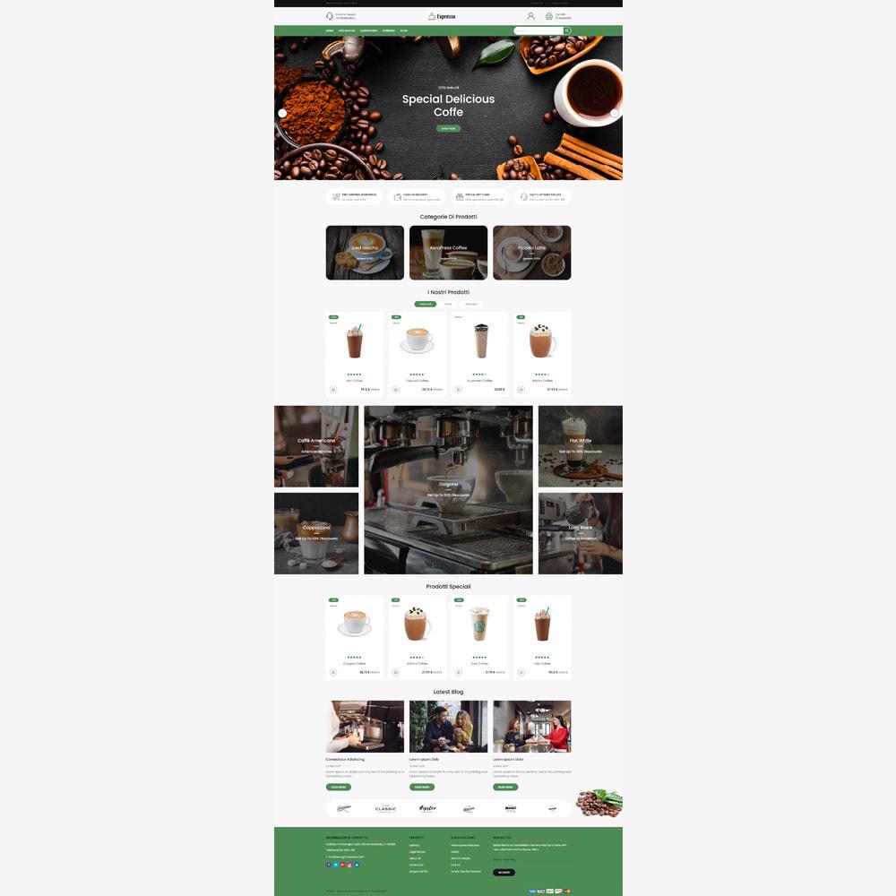 theme - Cibo & Ristorazione - Negozio di caffè espresso - 2
